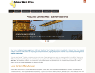 submarwestafrica.com screenshot