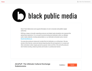 submissions.blackpublicmedia.org screenshot