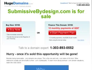 submissivebydesign.com screenshot
