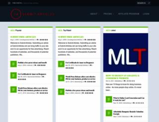 submit-articles.net screenshot