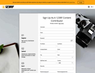 submit.123rf.com screenshot