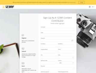 submit.123rf.net screenshot
