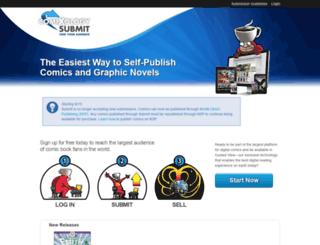 submit.comixology.com screenshot