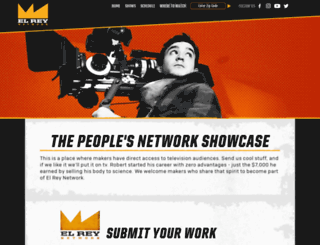 submit.elreynetwork.com screenshot