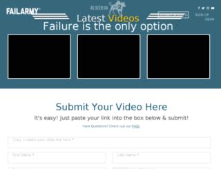 submit.failarmy.com screenshot