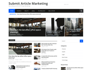 submitarticlemarketing.com screenshot