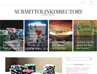 submittolinkdirectory.com screenshot