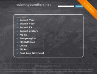 submityouroffers.net screenshot