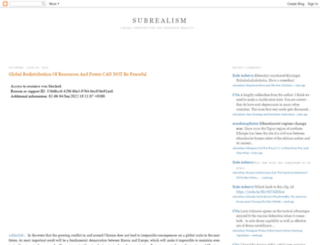 subrealism.blogspot.co.uk screenshot