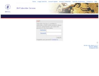 subs.brillonline.nl screenshot