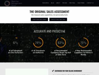 subscribe.objectivemanagement.com screenshot
