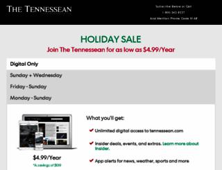 subscribe.tennessean.com screenshot