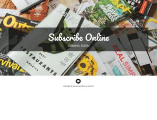 subscribeonline.co.uk screenshot