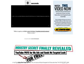subscribersurge.com screenshot