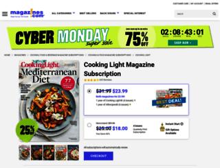 subscription.cookinglight.com screenshot