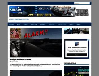 subsim.com screenshot