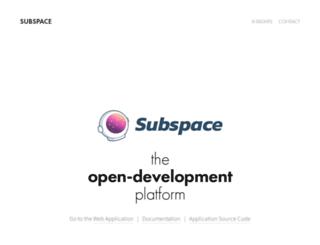 subspace.net screenshot