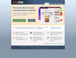 substitution.anyvite.com screenshot