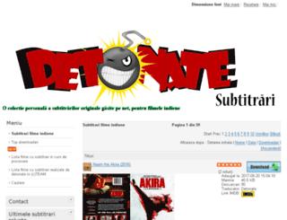 subtitrari.detonate.ro screenshot