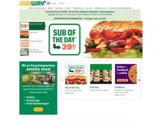 subway.se screenshot