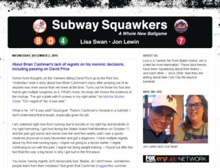 subwaysquawkers.blogspot.com screenshot