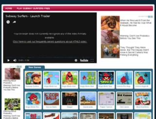 subwaysurfersgameonline.com screenshot