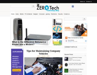 subzerotech.com screenshot