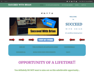 succeedwithbrian.weebly.com screenshot