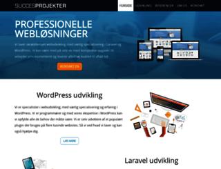 succesprojekter.dk screenshot
