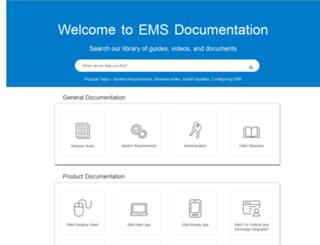 success.emssoftware.com screenshot