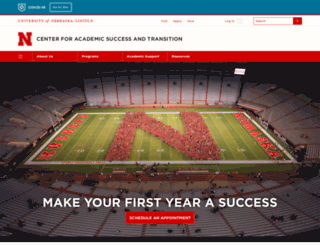 success.unl.edu screenshot