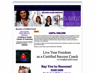 successcoachinstitute.com screenshot