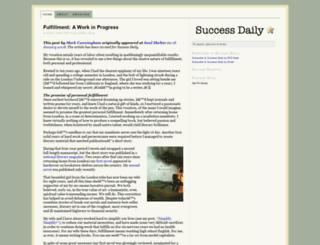 successdaily.com screenshot