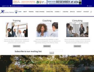successfactory.co.za screenshot