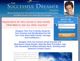 successfuldreamercourse.com screenshot