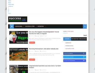 successto.info screenshot