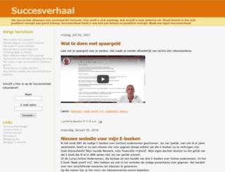 succesverhaal.blogspot.nl screenshot