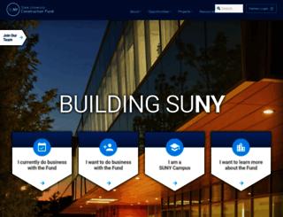 sucf.suny.edu screenshot