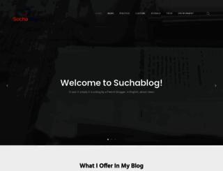 suchablog.com screenshot