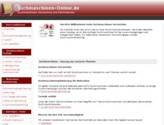 suchmaschinen-online.de screenshot