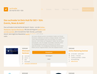 suchradar.de screenshot