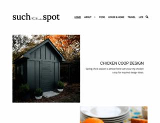 suchthespot.com screenshot