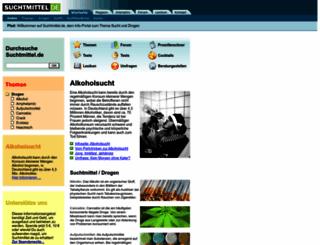 suchtmittel.de screenshot