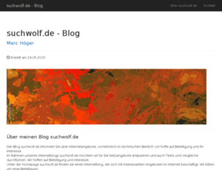 suchwolf.de screenshot