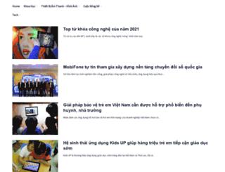 sucmanhcongnghe.com screenshot
