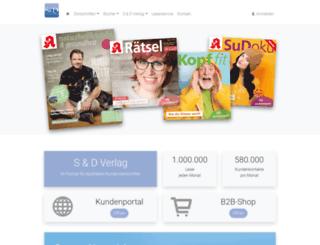 sud-verlag.de screenshot