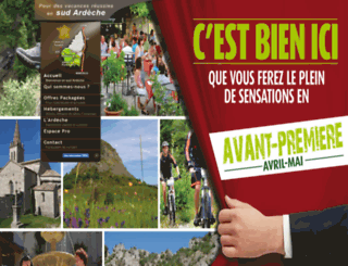sudardeche.fr screenshot