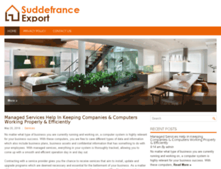 suddefrance-export.net screenshot