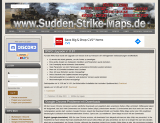sudden-strike-maps.de screenshot