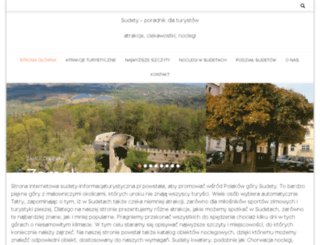 sudety-informacjaturystyczna.pl screenshot